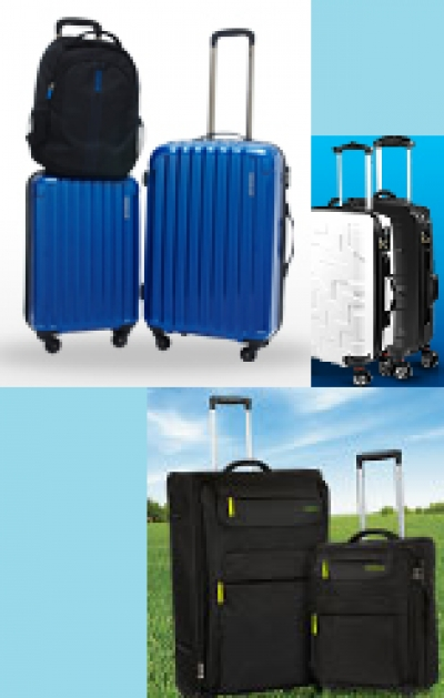 Free Luggage (Suitcase) from Singapore Credit Card